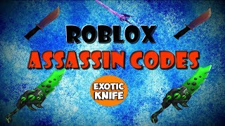 Roblox Assassin Codes! 2017 BEST CODES