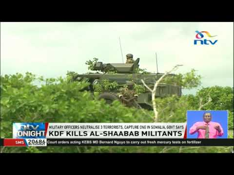 KDF kill al-Shabaab terrorists, capture one in Somalia