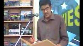 Vikram Sampath at the reading of his book at Crossword Part2