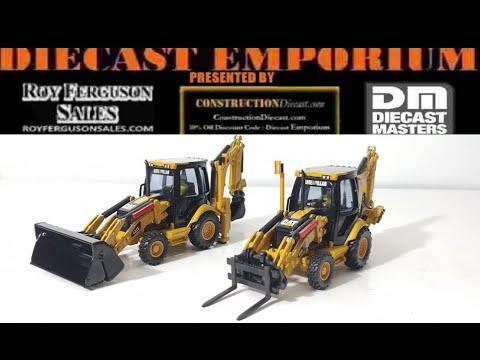 Diecast Masters Core Classics Cat 420E IT & 432E Side Shift Backhoes