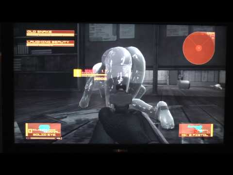 MGS 4. Laughing Octopus. Glitch. Dat ass.