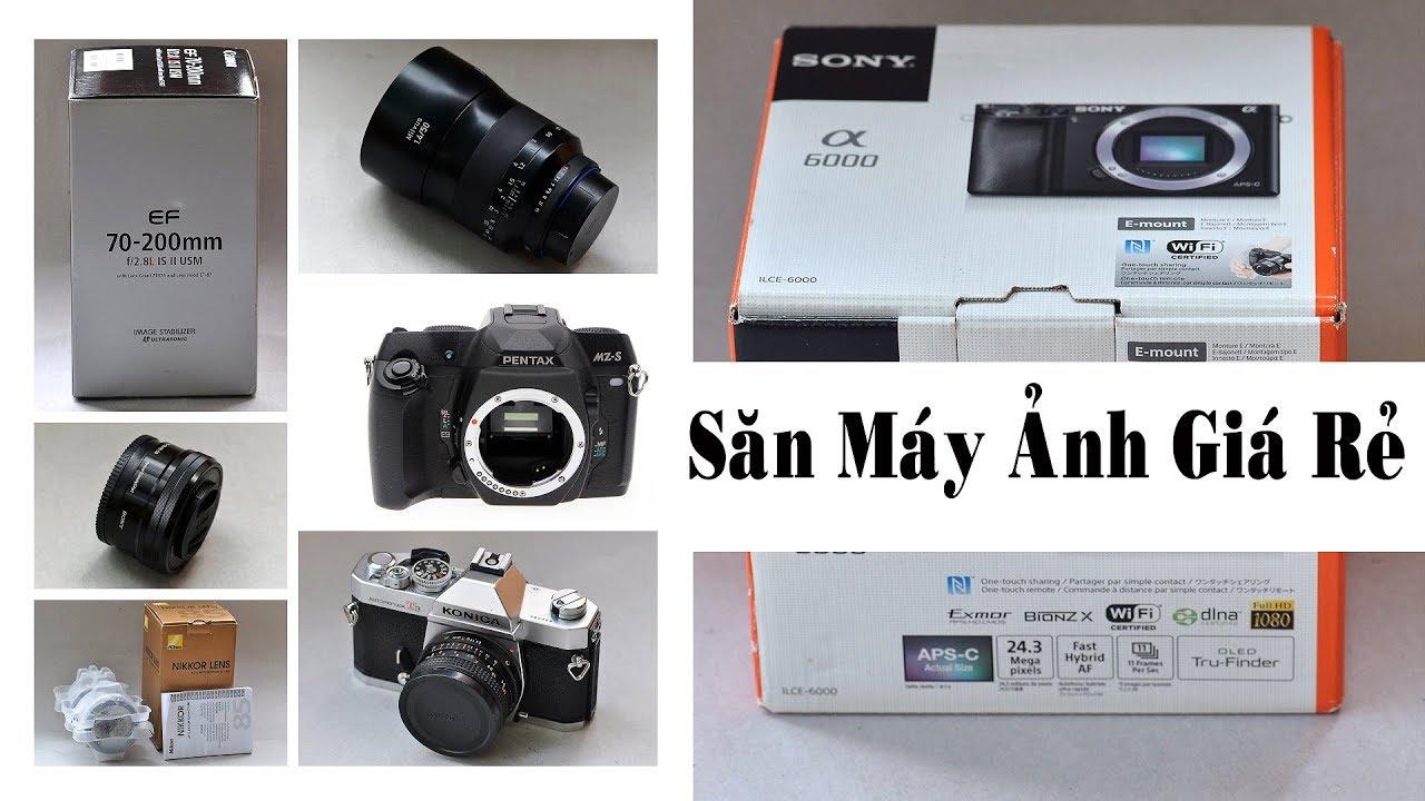 Săn máy ảnh giá rẻ –  chia sẻ nơi bán đấu giá lens và phụ kiện máy ảnh