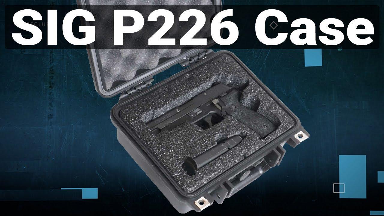 Sig Sauer P226 Pistol Case - Video