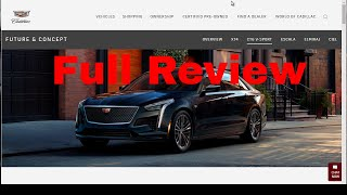 2019 Cadillac CT6 V-Sport Sedan - 550HP 4.2L Twin Turbo V8 - Review and Release Date