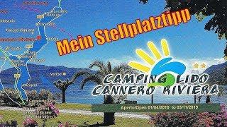 Campingplatz Lido in Cannero am Lago Maggiore