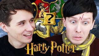Which Hogwarts House Are Dan And Phil?!   Pottermore