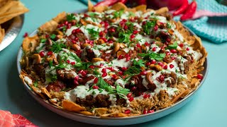 Buffalo Fried Chicken Fatteh Recipe