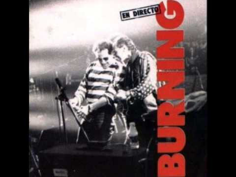 Burning -En directo (1991)