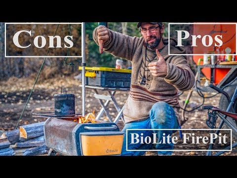 BioLite Smokeless FirePit Pros and Cons Review