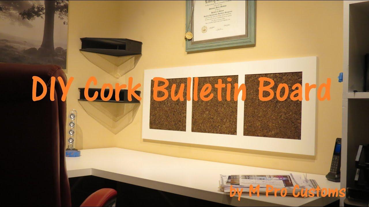 DIY Bulletin Board - YouTube