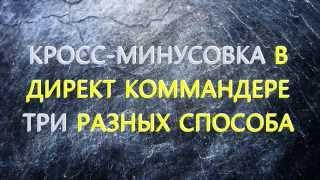КРОСС МИНУСОВКА Яндекс Директ