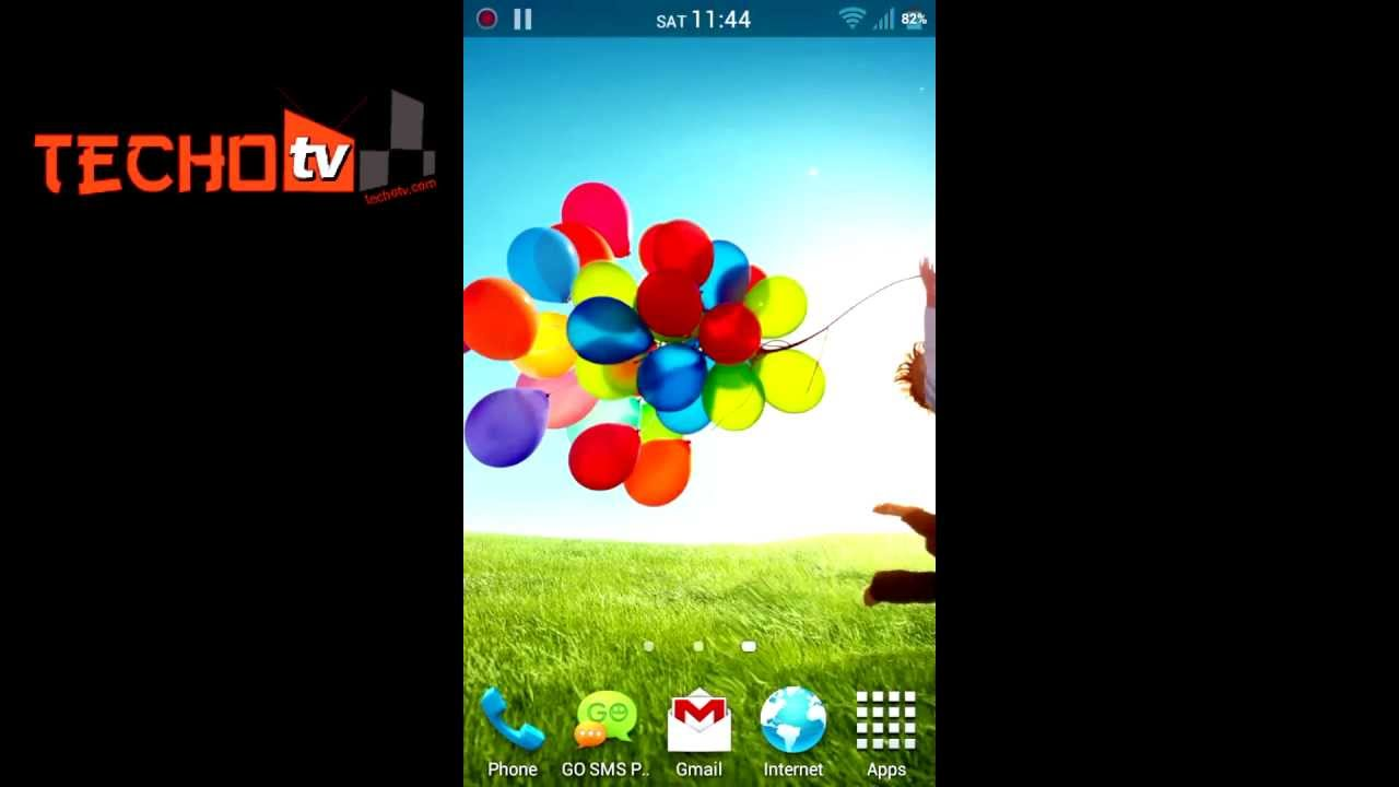 Get Galaxy S4 Live Wallpaper Ripple Effect On All Android Phones