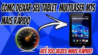 Como parar de travar o Tablet Multilaser M7s DUAL/QUAD CORE!