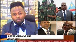 ACTUALITÉ 22 05 2019 FELIX TSHISEKEDI A NOMMÉ LE CHEF D'ETAT -MAJOR MILITAIRE + KATUMBI A FAYTU