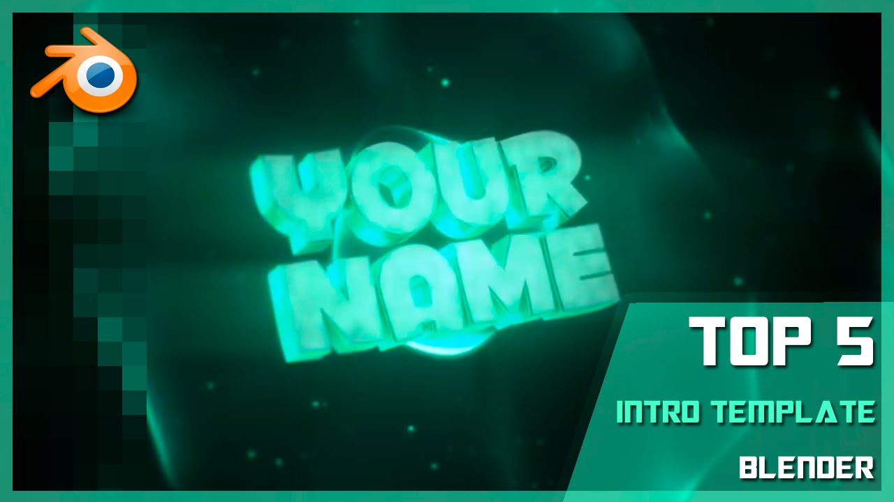 TOP 5 NEW Intro Template#49+Free Download[Blender]