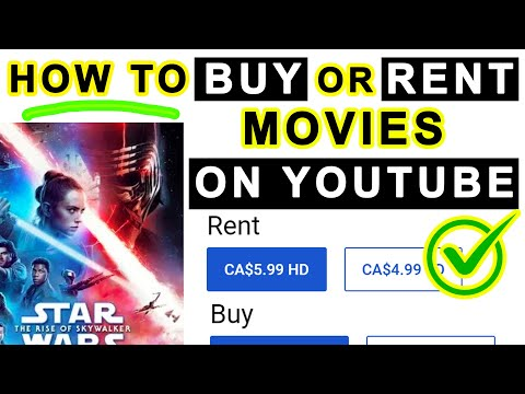 How To RENT Or BUY Movies On Youtube
