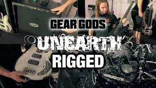 GEAR GODS RIGGED - Unearth