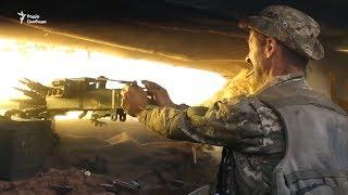 Бій ЗСУ з противником в Новгородському. Відео з окопів
