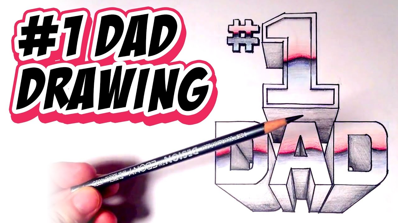 Easy Drawings For Your Dad Simple Mother 39s Day Card Cute I Love