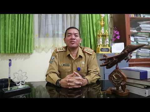Pembukaan MPLS 2020 Oleh Kepala SMAN Mojoagung