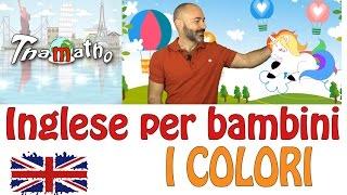 Inglese per bambini - I colori - The colours