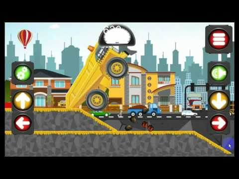Animated puzzles trucks
