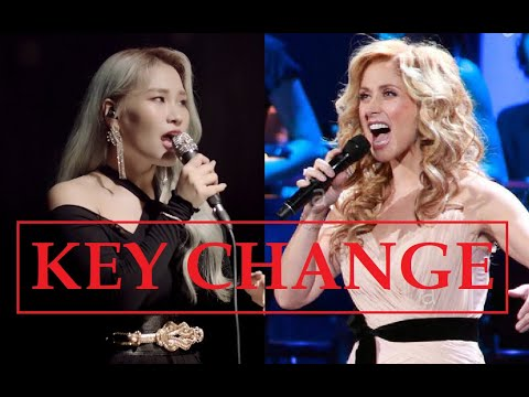 Amazing KEY CHANGE While BELTING By Famous Singers!