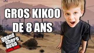 Troll d'un énorme kikoo de 8 ans sur GTA ONLINE