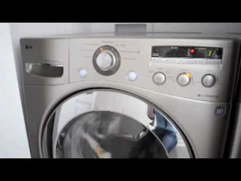 New Lg Washer And Dryer Dec 2009 Youtube