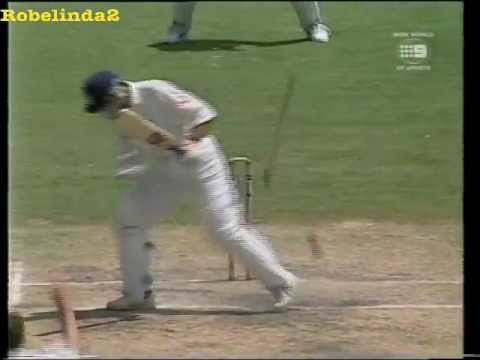 Demon inswinging yorker in cricket......the best I have ever seen!!!