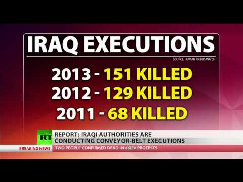 UN: Iraqi 'conveyer-belt of executions... is simply deplorable'