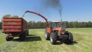 Sound! Vintage silage harvesting!