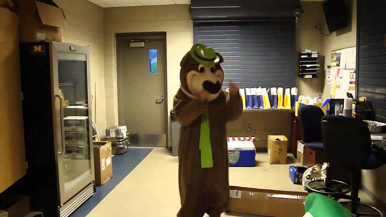 Me In A Yogi Bear Costume Dancing Youtube