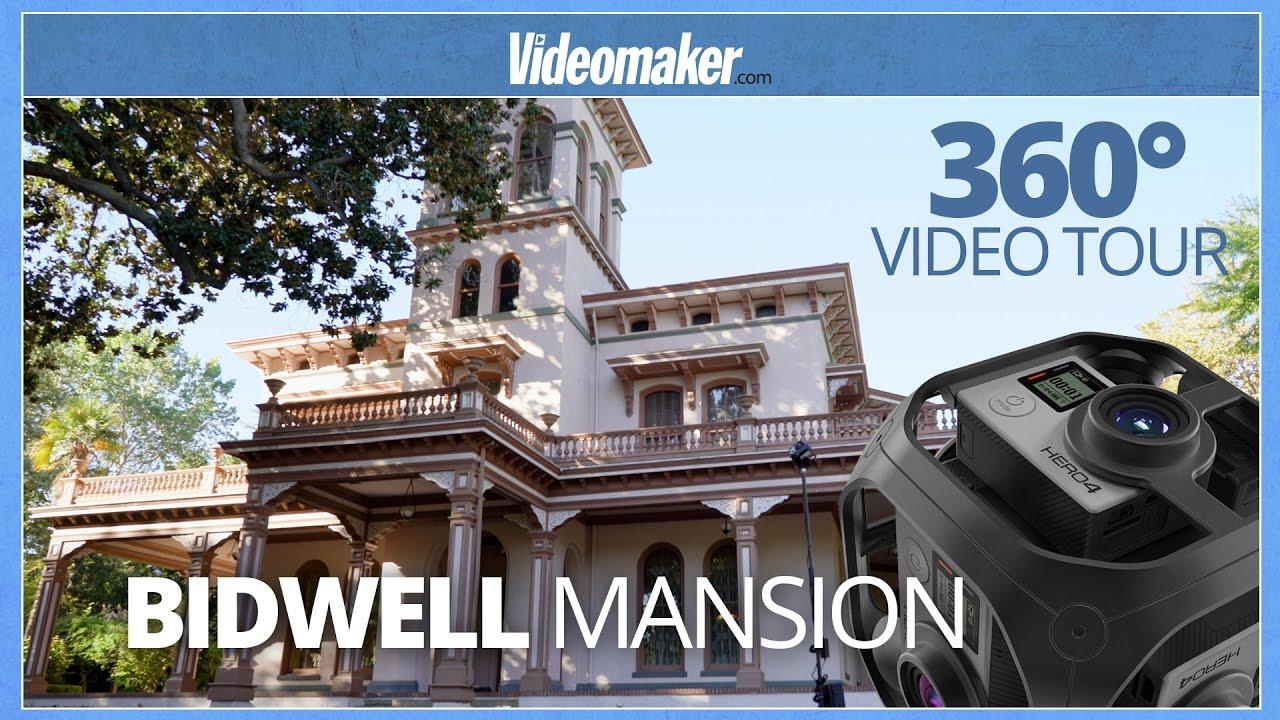 360 Degree Video Tour Of Bidwell Mansion A California Historical Landmark Youtube