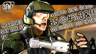 The Shit Marines Say - Halo SFM Animation