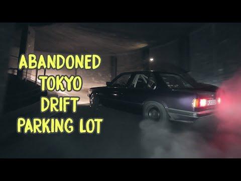ABANDONED TOKYO DRIFT PARKING LOT