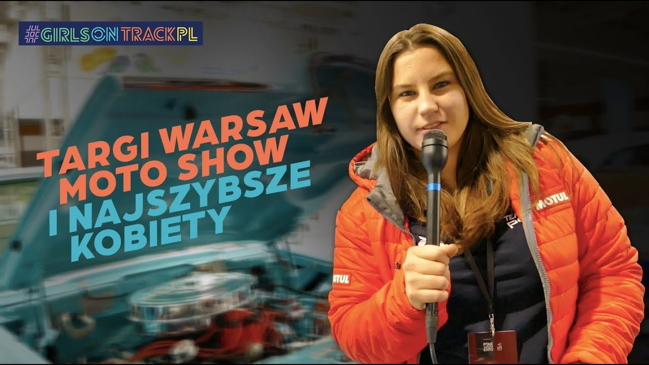 Targi Expo Moto Warsaw Show 2018 - Strefa Kobiet & Projekt Girls on Track