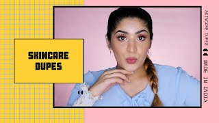 Made In India Skincare Dupes Of Skincare Not Available In India | Shreya Jain