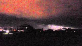 Lightning storm, Airdrie Alberta  6/29/13 HD