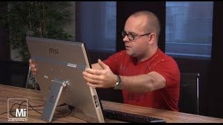 MSI Adora24G. Настольныи планшет на 24 дюима.