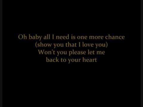 I want you back guitar chords