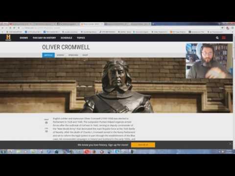 John MacArthur Attacks Oliver Cromwell?