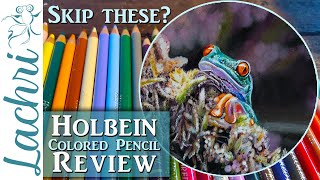 Holbein Colored Pencil Review from a Professional Artist - Lachri