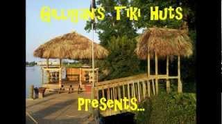 """Gilligan's Tiki Huts At """"dan's Riverfront Tiki Bar"""" Mytle Beach"""