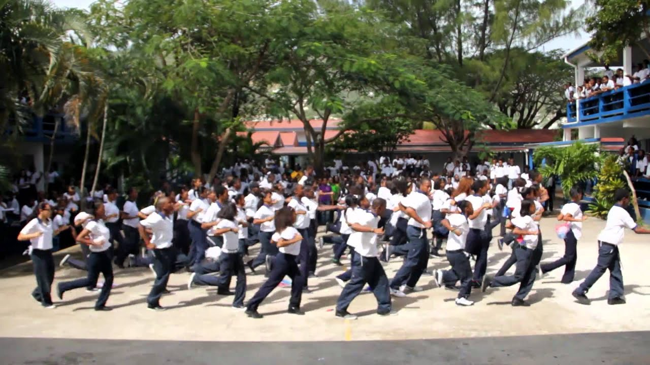 "St.Maarten Academy ""Get Fit"" Flash Mob"