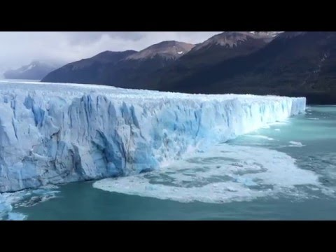 INSANE COLLAPSE PERITO MORENO GLACIER 2016!