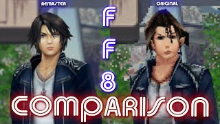 FINAL FANTASY VIII Remastered (Comparison) | Switch VS. PC (Original)