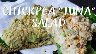 "Vegan Chickpea ""tuna"" Salad"