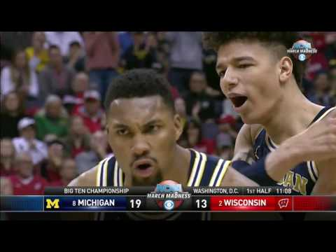 Michigan Wolverines vs Wisconsin Badgers Full Game 12 03 2017