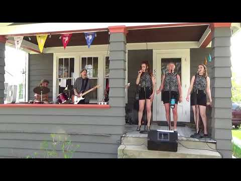 She-Bop at 2018 Water Hill Music Fest - opening songs